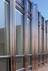 Stick System Curtain Wall Exposed Frame Glass Curtain Walling Stick System Bct