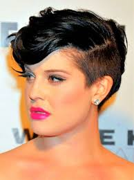Short Shaved Hairstyles For Girls by Best Short Hair For Black Girls With Oval Shaped Faces Hairstyle