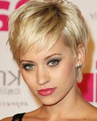 photo gallery of short hairstyles for women over 40 with thin hair