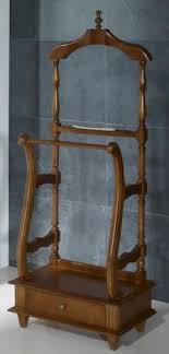 meuble valet de chambre valet de nuit en merisier massif de style louis philippe meuble en
