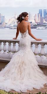 24 beautiful feather wedding dresses trend for 2017 feather