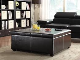 latest large leather ottoman large cocktail ottoman coffee table