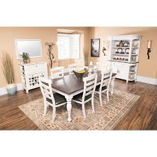 sunny designs 1015fc bourbon county extension dining table in