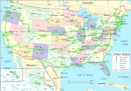 us hwy map pre interstate us highway system map usa mappery lovely us