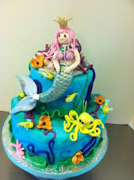 mermaid birthday cake mermaid birthday cake for girl picture of signe s bakery
