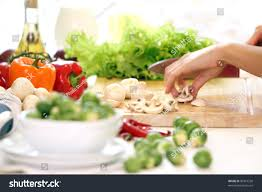 table in the kitchen healthy food on table kitchen stock photo 86319238 shutterstock