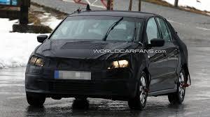 volkswagen sedan 2012 2012 vw polo sedan spied headed for u s