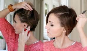 Frisuren F Kurze Haare Zum Selber Machen by Frisuren Für Kurze Haare Zum Selber Machen Haarstrends 2017 Dünnes