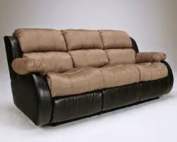 Two Tone Reclining Sofa Reclining Sofa Loveseat And Chair Sets Seth Genuine Leather Power