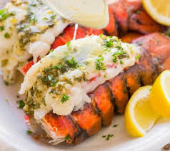 recettes cuisine recette facile de queues de homard au beurre à l ail