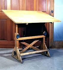 Drafting Table Vintage Wood Drafting Table Drafting Table Vintage Drafting Table Turned