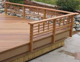 wood porch railing ideas with beautiful design home design