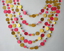 pink and gold decor etsy