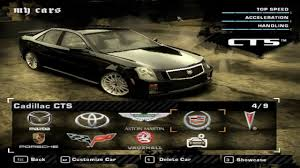 build cadillac cts nfs most wanted cadillac cts build