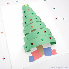 hello wonderful 10 artsy christmas tree projects for kids