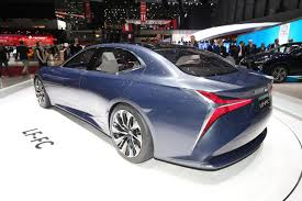 lexus lf fc lexus at the 2016 geneva motor show myautoworld com