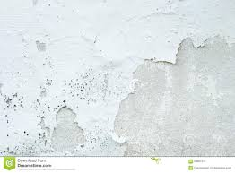 Off White Paint White Paint Concrete Wall Peel Off Background Stock Photo Image