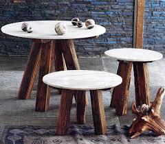 roost sandblasted marble tables u2013 modish store