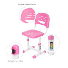 Schreibtisch Schwenkbare Tischplatte Ikayaa Höhenverstellbar Kinder Studie Schreibtisch Stuhl Set