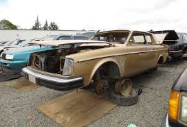 classic volvo coupe junkyard find 1980 volvo 262c bertone coupe the truth about cars