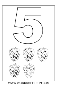 Free Printable Worksheets For Preschool Teachers 76 Best Children Numbers Images On Pinterest Number Worksheets