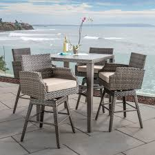 kingston 5pc bar height dining collection mission hills furniture