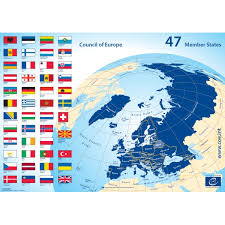 map europ map of the council of europe 47 member states council of europe