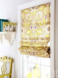 How To Make Window Blinds - how to make roman shades