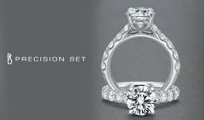 precision set rings precision set engagement rings calvins jewelry tx