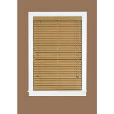 Blinds Wood Faux Wood Blinds Blinds The Home Depot