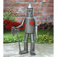 harvey gallery tin garden statue ebay