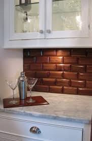 Wood Backsplash Kitchen Kitchen Best 10 Kitchen Brick Ideas On Pinterest Exposed