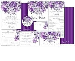 purple wedding programs diy purple wedding invitations simplo co