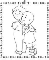 caillou free printable coloring pages hooray kiddos