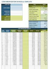 Amortization Table With Extra Payments Free Excel Amortization Schedule Templates Smartsheet