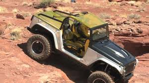 moab jeep concept 2014 jeep wrangler and grand cherokee concepts live at moab easter