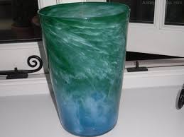 Whitefriars Glass Vase Antiques Atlas James Powell U0026 Sons Whitefriars Cloudy Glass Vase