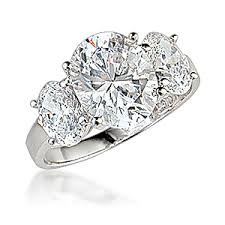 zirconia stone rings images Hailey three stone oval cubic zirconia ring mystique of palm beach jpg