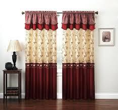 Burgundy Curtains Living Room Black And Burgundy Living Room Home Design
