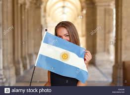 Argentina Flag Face Argentina People Happy Stock Photos U0026 Argentina People Happy Stock