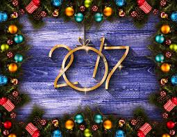 new year stuff 2017 happy new year seasonal background with real wood green pine