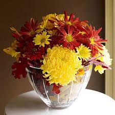 halloween floral centerpieces autumn flower arrangements family circle