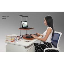 sit stand computer desk height adjustable sit stand computer desk