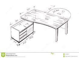 house design maker download modern interior design desk freehand drawing royalty free stock