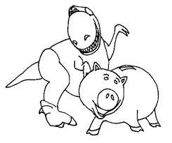 rex hamm toy story coloring download u0026 print