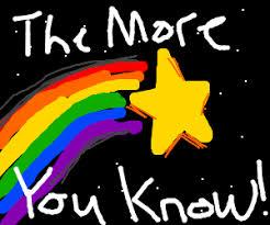 The More You Know Meme - the more you know meme drawing by brotherhoodofsteel