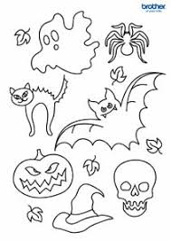 free printable halloween crafts activities u2013 brother