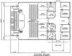 church floor plans free church plan 142 lth steel structures