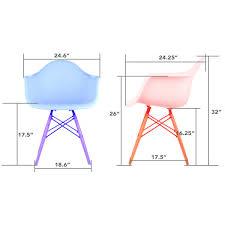 Eames Plastic Armchair Daw Eames Daw Chair Price Vitra Eames Plastic Armchair Daw Yellowish
