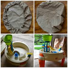 water table with cover the windy wilsons diy no sew no tool water table cover on the cheap